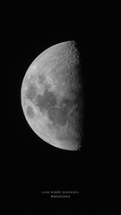 Luna sobre Guayaquil wallpapaer (Nendoras) Tags: mobile wallpaper moon astrophotography amateur beginner luna guayaquil ecuador