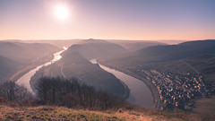 Moselle Loop (redfurwolf) Tags: mosel moselle river loop landscape photography nature outdoor sunrise sun sky famous travel bremm mountains field redfurwolf sonyalpha sony sonydeutschland sal1635f28za a99ii germany rheinlandpfalz