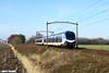 NS flirt 2205 + 2506 langs de Broekdijk in Hulten - 13 februari 2018 (best trains) Tags: flirt nederland noordbrabant hulten 20broekdijk ns flirt3 sprinter spr arnhem centraal