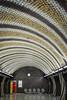 Szent Gellért Tér (torekimi) Tags: budapest hungary subway underground station mosaic ceiling