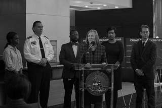 Janurary 1, 2018 DFS Crime Stat Presser