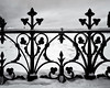 Winterscape 2018 # 39   ... ; (c)rebfoto (rebfoto ...) Tags: rebfoto winterscape blackandwhite monochrome gate fence metalwork railing snow winter