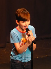 CC4K 13/01/18: Sam's Song (Diamond Geyser) Tags: comedy comedian comic comedyclub4kids comedy4kids comedyforkids comedyshowforchildren cc4k onstage show gig standup sohotheatre lorenzauditorium samson