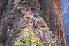 To the Top (twinblade_sakai340) Tags: adventure angel fun hike hiker hiking landing landscape mountain mountains national nature outdoor outdoors park slot utah wall zion