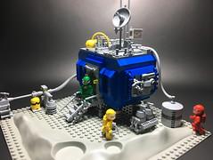 NCS Outpost (Jorel_) Tags: lego neoclassicspace space adventure exploration exoplanet retro