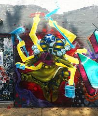 Overwatch : Zenyatta (wiredforlego) Tags: graffiti streetart urbanart aerosolart publicart chicago illinois ord overwatch mural