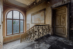 Manoir des grands brûlés, BEL (*Sébastien Cors' / PicturWall / iLOVEyourHOME*) Tags: sébastien cors picturwall love your home canon 60d 10 mm 6d 1635 f4 urbex exploration urbaine urban decay dark abandoned forgotten lost place abandonné oublié désaffecté friche abbandonato incolto dimenticato verlassen vergessen brache geschlossen abandonado olvidado baldío lr lightroom hdr photomatix manor manoir des grands brûlés be bel belgique belgium