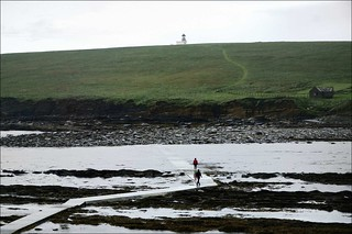 Wet Way to Brough of Birsay