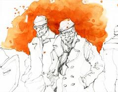 SkBook21_26-27 (k.ro001) Tags: sketch croquis aixcroquis kro001 carolinemanceau dailypainting carnetdevoyage aquarelle watercolour workshop stage carnetdecroquis croquisaquarellé