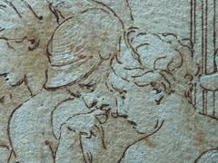 PRIMATICE - Le Banquet d'Alexandre (drawing, dessin, disegno-Louvre INV8569) - Detail 075 (L'art au présent) Tags: dessins disegni drawings people art details détail détails detalles italiandrawings dessinitalien italianpainters peintresitaliens renaissance dessins16e 16thcenturydrawings 16thcentury croquis étude study sketch sketches wash lavis museum france italie italy bollogne francescoprimaticcio leprimatice primaticcio myth mythe mythologie mythology soldier soldiers soldat man men repas meal lunch woman women festin food servant serveur domestique alexander table portraits portrait statue statues