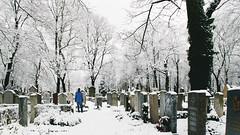 Memories (André Moecke) Tags: cemetery snow winter white memories munich munchen munique germany bayern deutschland