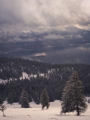 Misty Mountains (Johannes_Kaspar) Tags: alpen bayern berge schnee snow mountain alps sky clouds mist