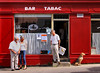 Île de Groix: morning at the bar tabac (Henk Binnendijk) Tags: island insel île eiland îledegroix bretagne brittany france ponant armor enezgroe morbihan lorient frankrijk breizh mor bar tabac café