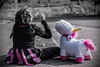 Avec ma licorne (SandraDM74) Tags: licorne enfance bulles