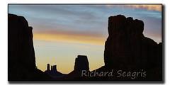 Monument Valley at Dusk (seagr112) Tags: unitedstates arizona monumentvalley twilight dusk