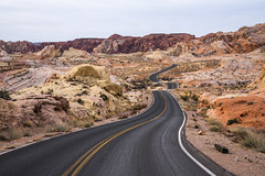The Road (Kurt Lawson) Tags: asphalt copyrighted fire nevada park rainbow road sandstone state statepark valley valleyoffire whitedomes