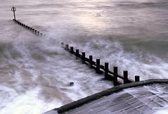 Maelstrom (PeskyMesky) Tags: aberdeen aberdeenbeach scotland canon 6d longexposure le groyne water wave sea ocean