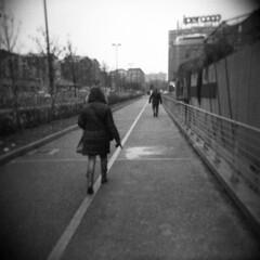 Torino (Valt3r Rav3ra - DEVOted!) Tags: holga holgacfn lomo lomography torino toycamera plasticcamera medioformato 120 6x6 film analogico analogica analog analogue valt3r valterravera visioniurbane urbanvisions streetphotography street bw biancoenero blackandwhite