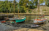 September memories... Low Tide in harbour. (capvera) Tags: memories souvenirs september harbour port sailboats voiliers stgoustan lowtide sonyimages