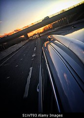 Uploaded to Stockimo (oohay!) Tags: stockimo motorway driving evening road cars commuting uk