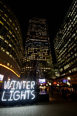 Canary Wharf winter lights show January 2018 (www.kevinoakhill.com) Tags: canary wharf winter lights show january 2018 beautiful amazing light time out london docklands east end britain visit tourism tourist travel fantastic wonderful interactive skyscraper tower towers city art exhibition moving photo photos professional brilliant bright dark evening night capital hamlets canada square perfect