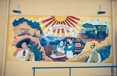 Barrio Viejo Mural (Maureen Medina) Tags: maureenmedina artizenimages mural elbarrioviejo downtown tucson az arizona mexican art street building