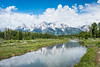 Snake River and Tetons with Clouds (grimeshome) Tags: tetons grandtetonnationalpark grandtetonsnationalpark snakeriver mountains nature