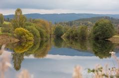 River reflections, Sigdal, Norway (KronaPhoto) Tags: 2017 sommer reflection speiling tree tre river elv water seascape landskap summer nature natur forest mountain skog