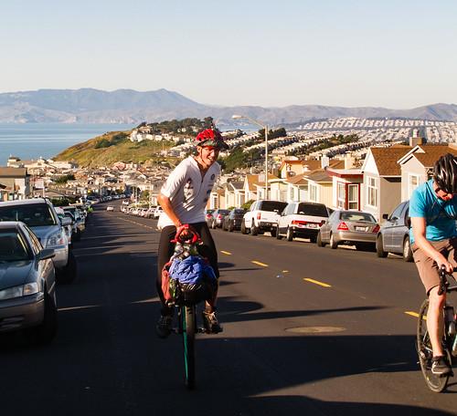 Climbing Skyline Drive, Daly City