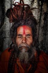 """"""" S A D H U """" (Ayan Kumar Ghosh Photography) Tags: calcutta city color kolkata nikon street sadhu india pilgrim nikonflickrawardgold hinduism"""