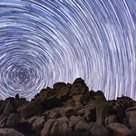 Jacumba, California Valley of the Moon Star Trails thumbnail
