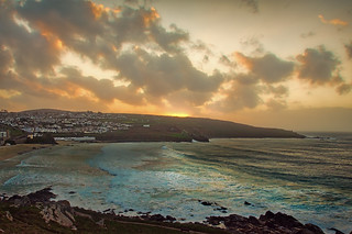 Sunset in St Ives