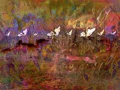Flight Line (flynryon) Tags: flynryon texture canvas flickr fingerpaintedit iamda paintbookca mobile art scumble mike ryon ipainter landscapes portraits figures mashablecom iphone digital paintings kansas dragoon creek