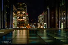 Urban Lights (ARTUS8) Tags: nacht night longtimeexposure nikon28300mmf3556 spiegelung stadt flickr modernearchitektur langzeitbelichtung nikond800 reflection wasser water
