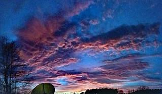 Pixelated Sky.