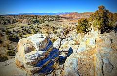 Gallisteo Dam area (JoelDeluxe) Tags: route 16 cochiti pueblo gallisteo dam red clay yellow silt newmexico nm hdr joeldeluxe