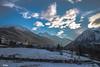 L'église (Steff Photographie) Tags: montagnes soleil art couleurs neige eglise