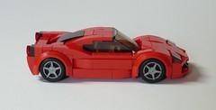Ferrari 458 Italia (MOCs & Stuff) Tags: lego city town ferrari 458 italia red sports car
