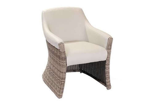 Luxor London Dining Armchair-  Rattan Outdoor Furniture