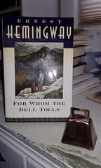For Whom the Bell Tolls (neukomment) Tags: flickrfriday ringthebell literature hemingway booklove novel