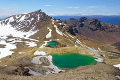 Volcanic Splendor    Tongariro National Park, NZ (Andrew Rhodes Photography) Tags: hiking emeraldlakes tongariro adventure northisland volcano newzealand tongariroalpinecrossing