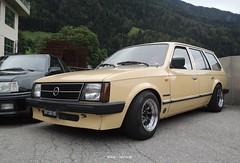 """Opel Kadett D Caravan """"Voyage"""" (regular carspotting) Tags: opel kadett d caravan voyage german wagon tuning targa nera targhe nere kombi stationwagon"""