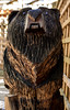 Wolves and bears (Malamute01) Tags: bears garden chainsaw sculpture portrait uk