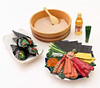 Mom's Kitchen # 9 (MurderWithMirrors) Tags: rement miniature food sushi rice spoon tray plate oil wasabi mwm motherskitchen