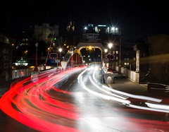 Swing bridge light trails (Mark240590) Tags: victorianarchitecture victorian quayside city busy lighttrails longexpo longexposure gateshead swingbridge bridge newcastleupontyne newcastle nikon