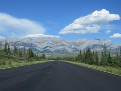 More fresh asphalt between Jasper and Hinton on Highway 16 - part 2 (jimbob_malone) Tags: 2017 highway16 alberta