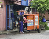 Press (Beegee49) Tags: street press news newspapers motorcycle sidecar bacolod city philippines
