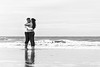 DSC_2101 (deborahb0cch1) Tags: love loveis lovers monochrome blackandwhite noiretblanc hug affection amour tenderness sea beach plage sand shore waves ocean deauville france kiss passion passionatekiss passionate