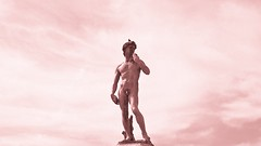 Bronze cast of David (Elvis L.) Tags: david bronze michelangelo florence firenze tuscany toscana italy italia art sculpture monument wallpaper background