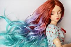 DSC_0047 (sonya_wig) Tags: fairytreewig bjdwig minifeewig bjd bjdminifee minifeemirwen handmade doll bjddoll dollphoto fairyland fairylandminifee minifee mirwen coloringhair bjdphotography wigforestelfdream